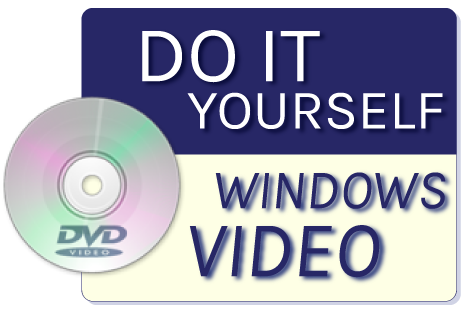 Do it yourself Windows DVD VRW
